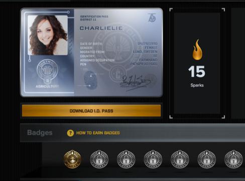 Figure 3. The Hunger Games Explorer Visual