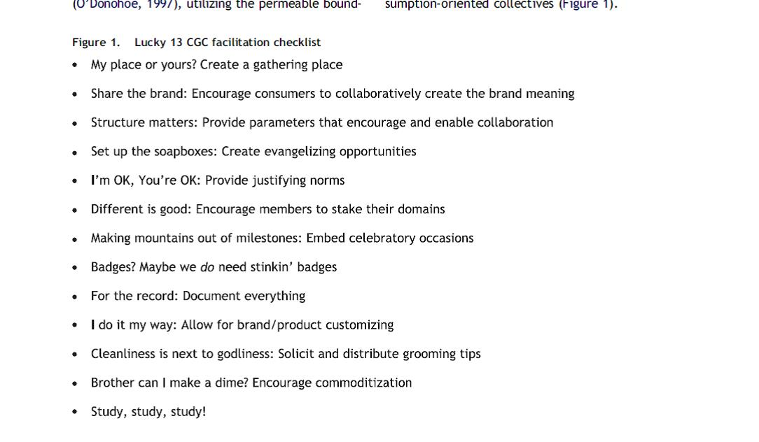 ''guideline collaborative consumer generated content ''