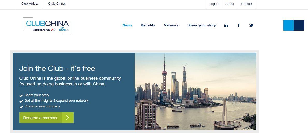 KLM Online Business Community