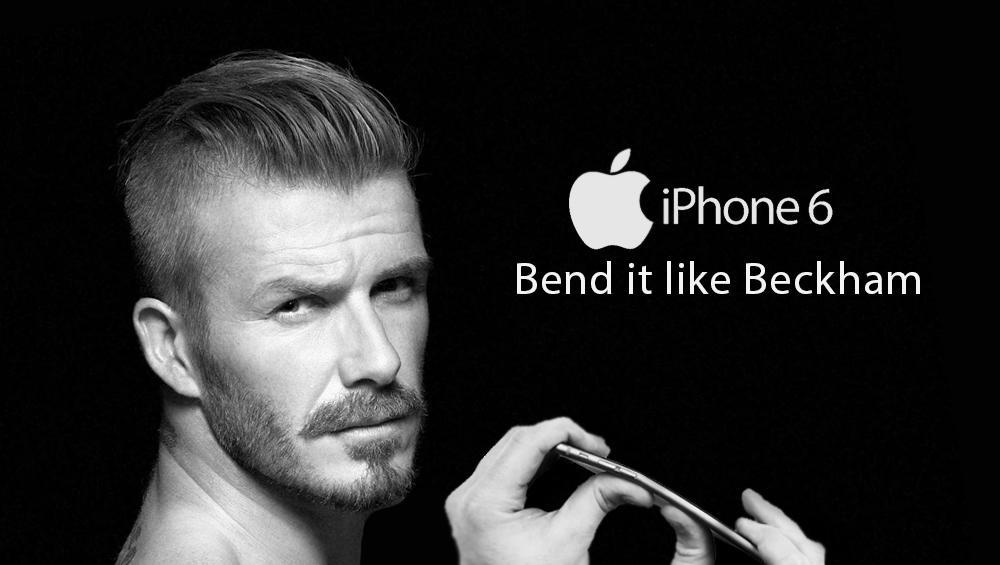 Apple fake advertisement created by an internet user in the context of the Iphone6 #bendgate crisis.