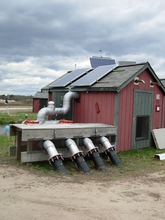 Solar Powered Pumping Station
