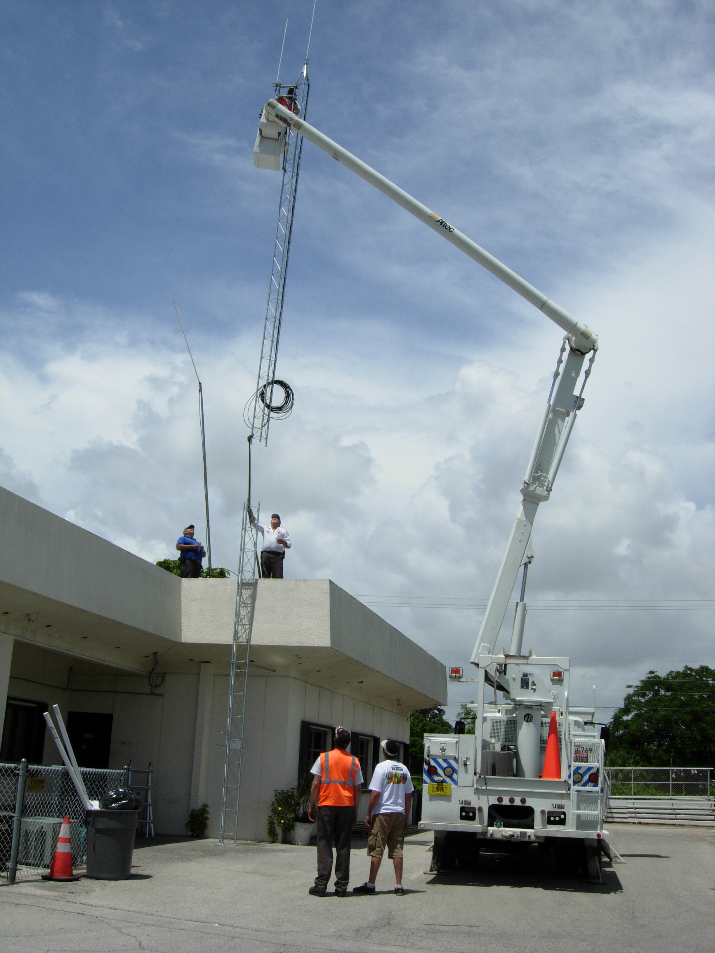 Installation of Communication Tower