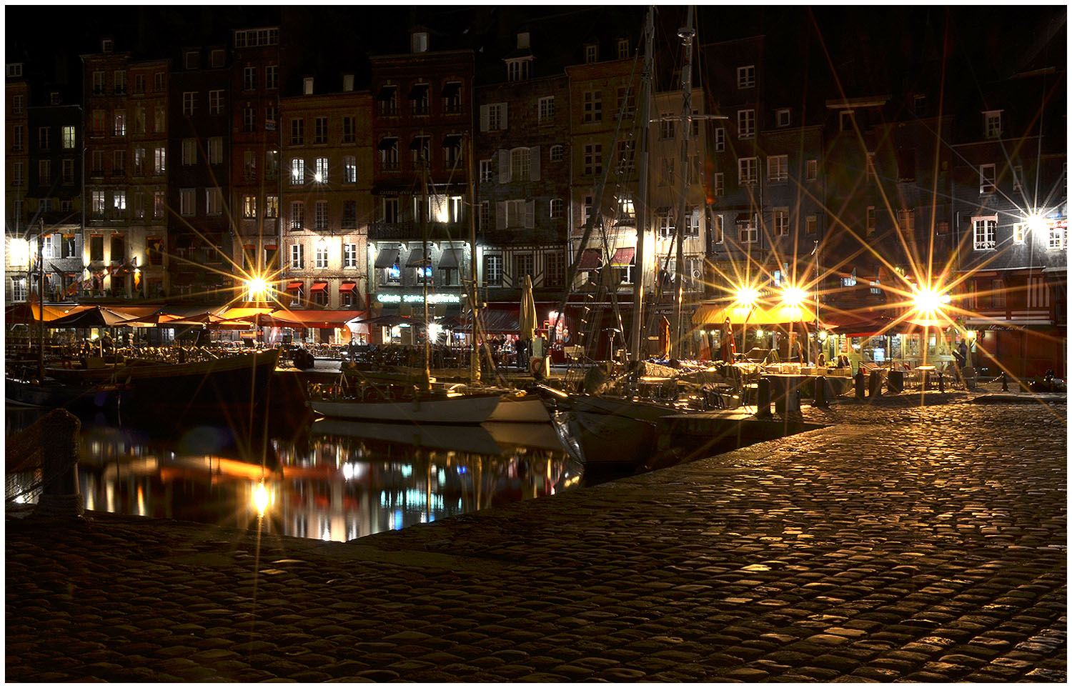 Night and Day in Honfleur.jpg