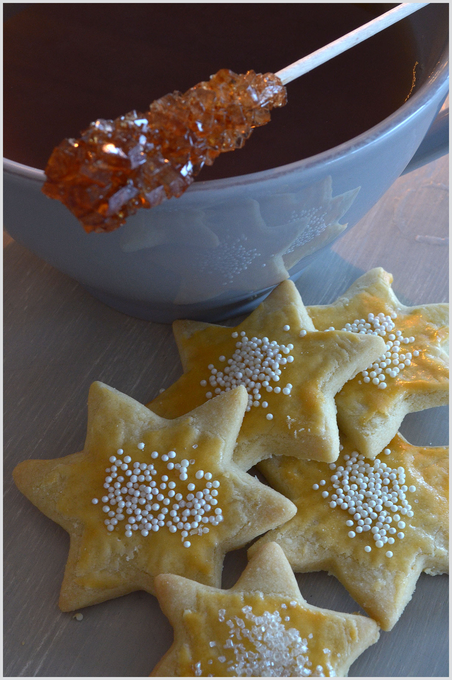 Homemade Star Biscuits