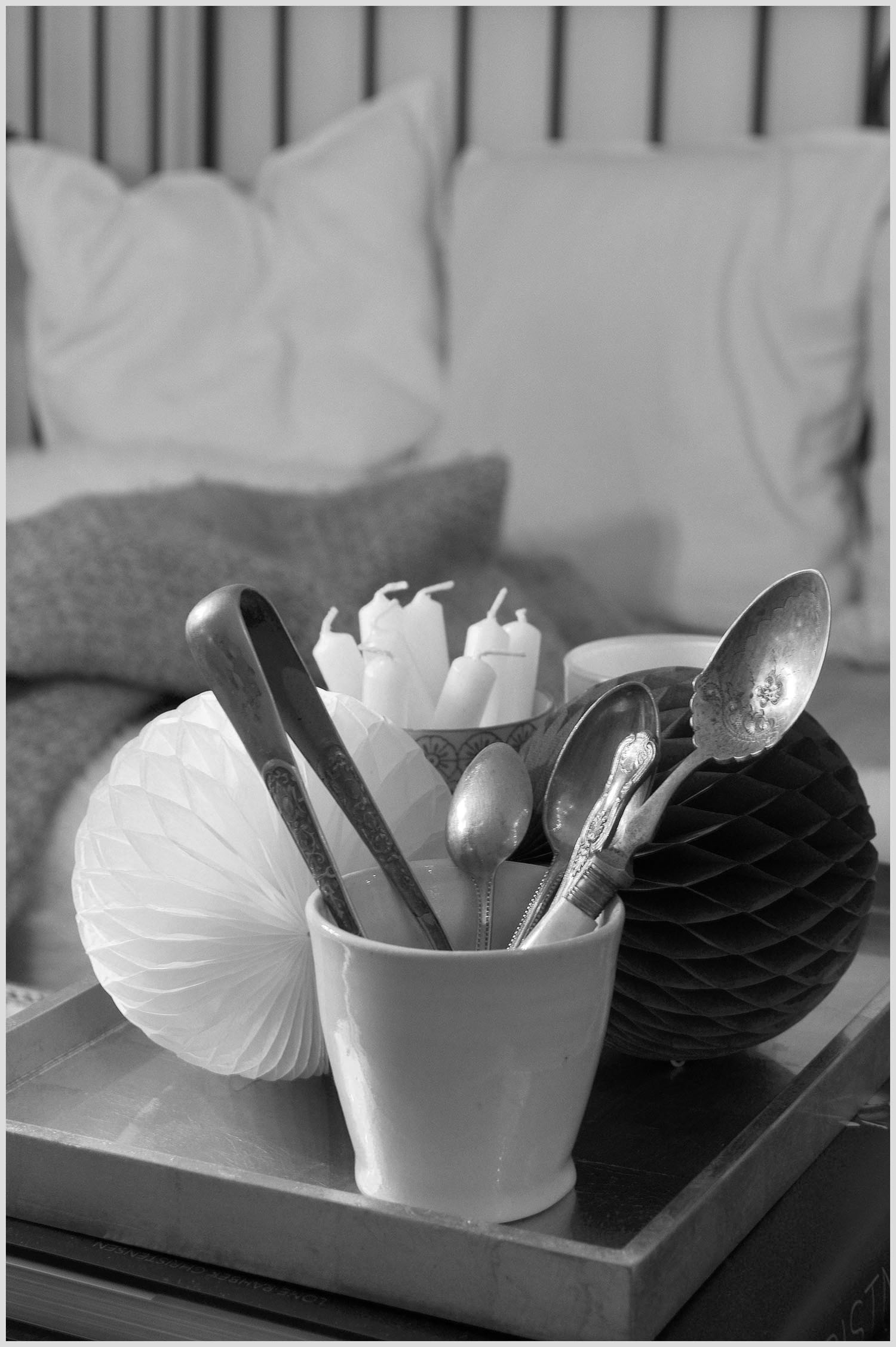 Winter Decorations Black & White