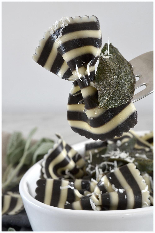 Black & White Bowtie Pasta