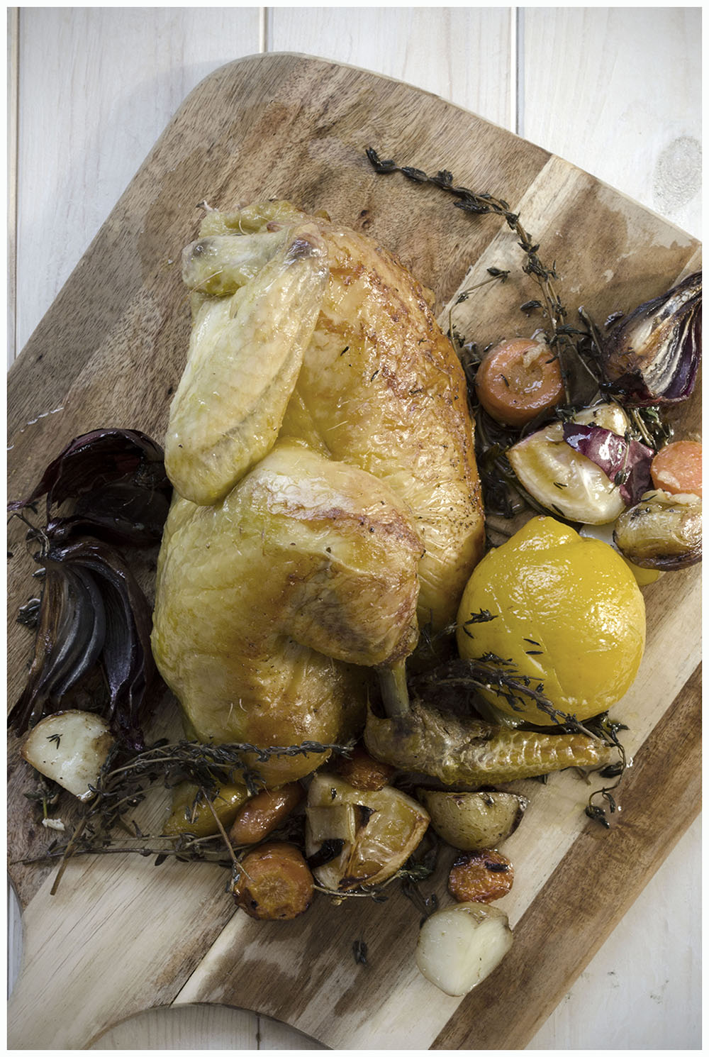 Roast Lemon & Thyme Chicken