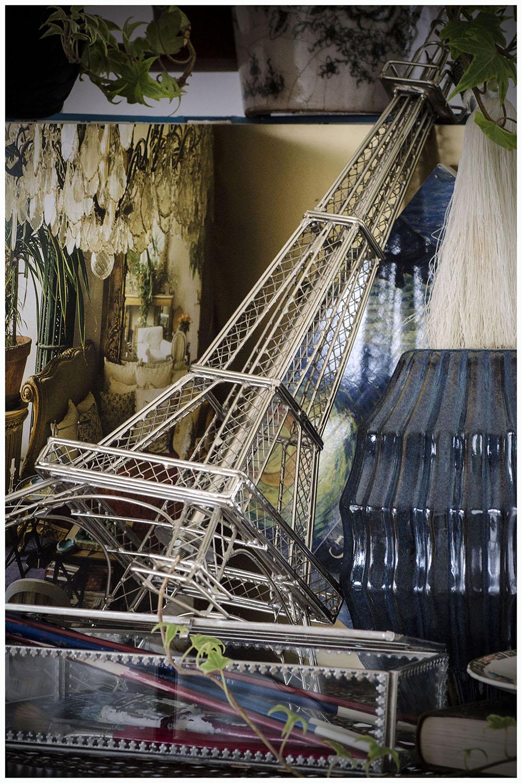 Midnight in Paris Style Vignette