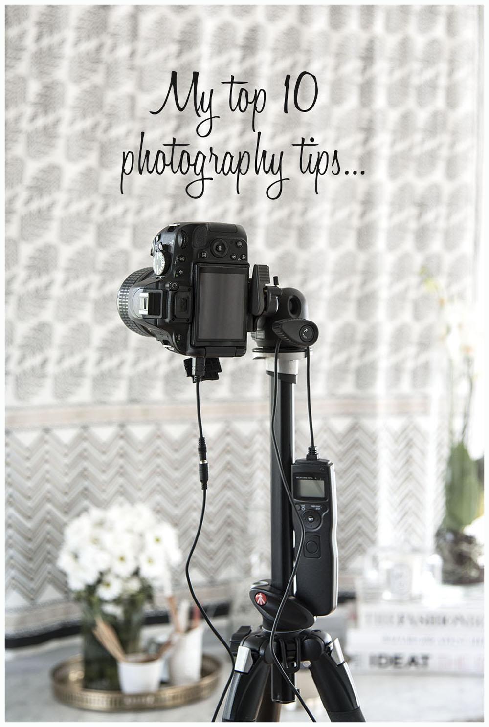 top ten photography tips