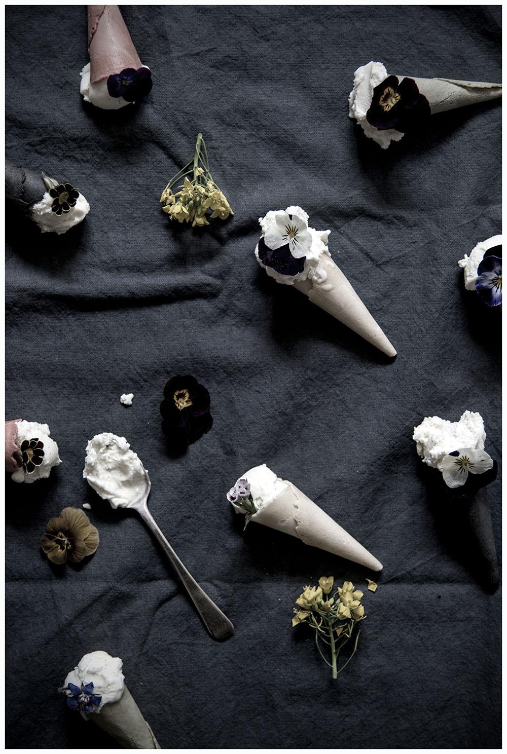 Flowery Ice Cream