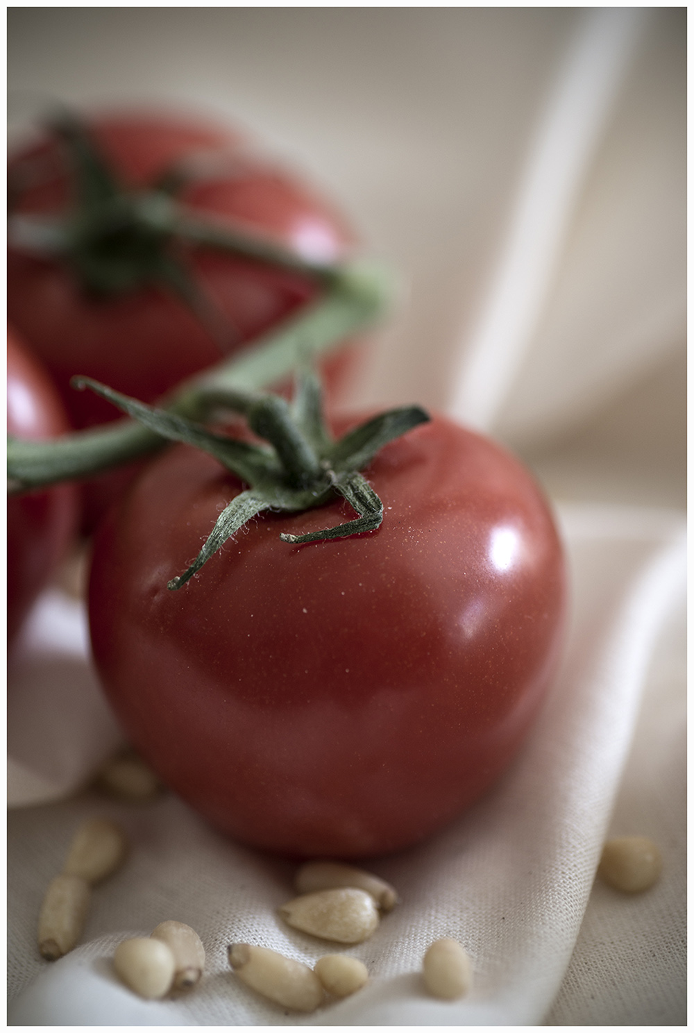 Tomatos and Pine Nuts