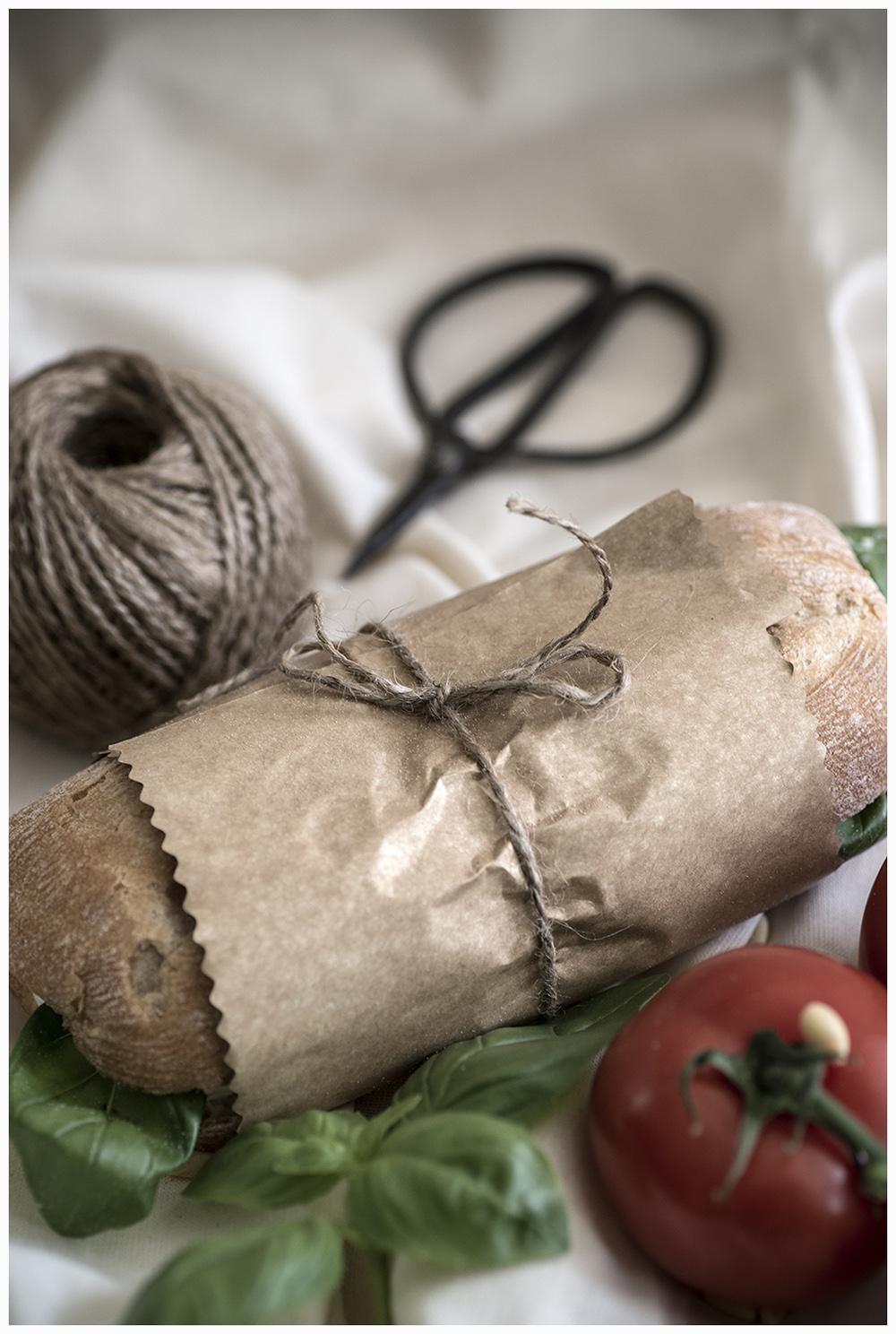 Wrapped up Ciabatta Sandwich