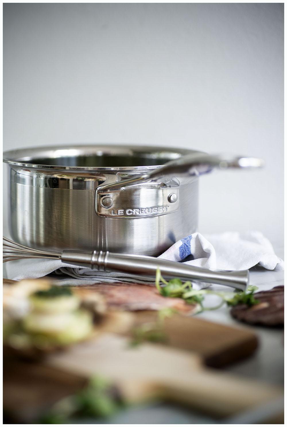 Scallops and Watercress Sauce