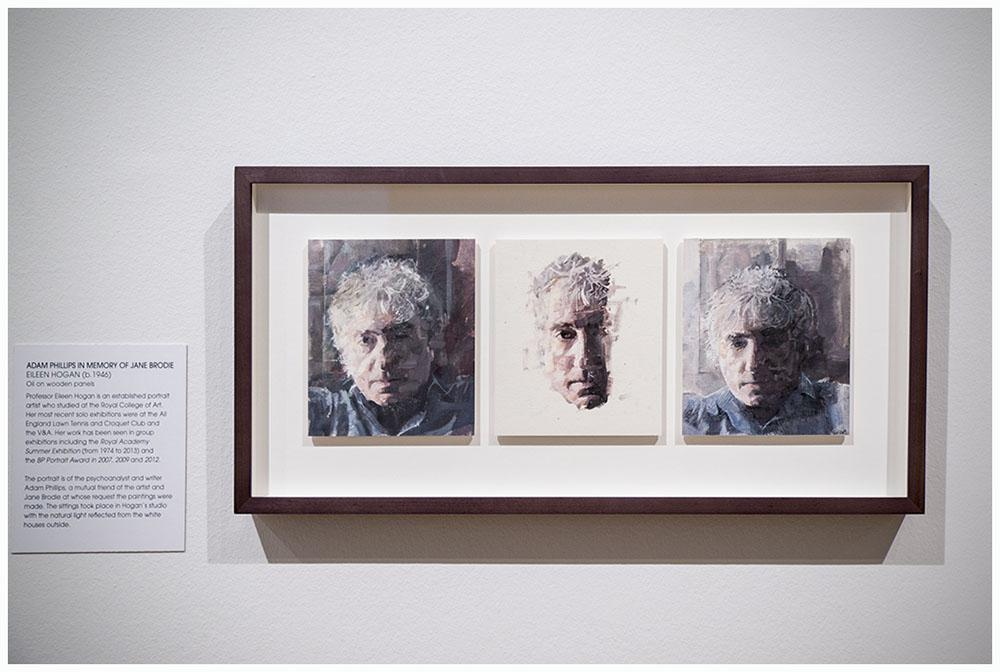 Adam Phillips in memory of Jane Brodie  by Eileen Hogan, 2013