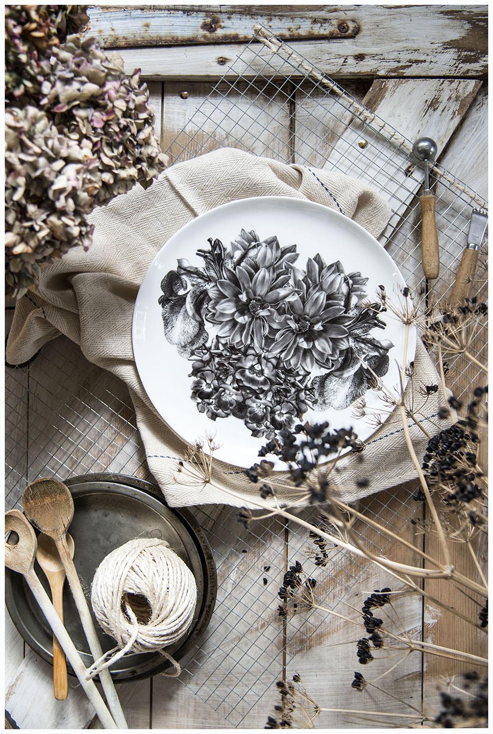 Styling a plate by Sasha Tugolukova