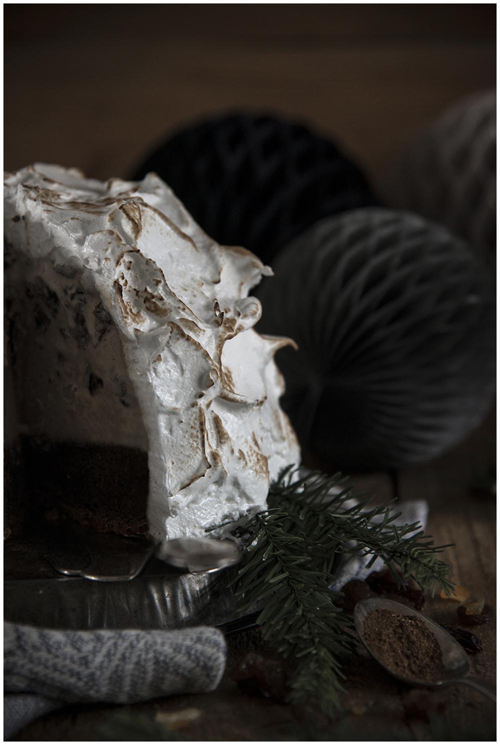 Christmas Baked Alaska