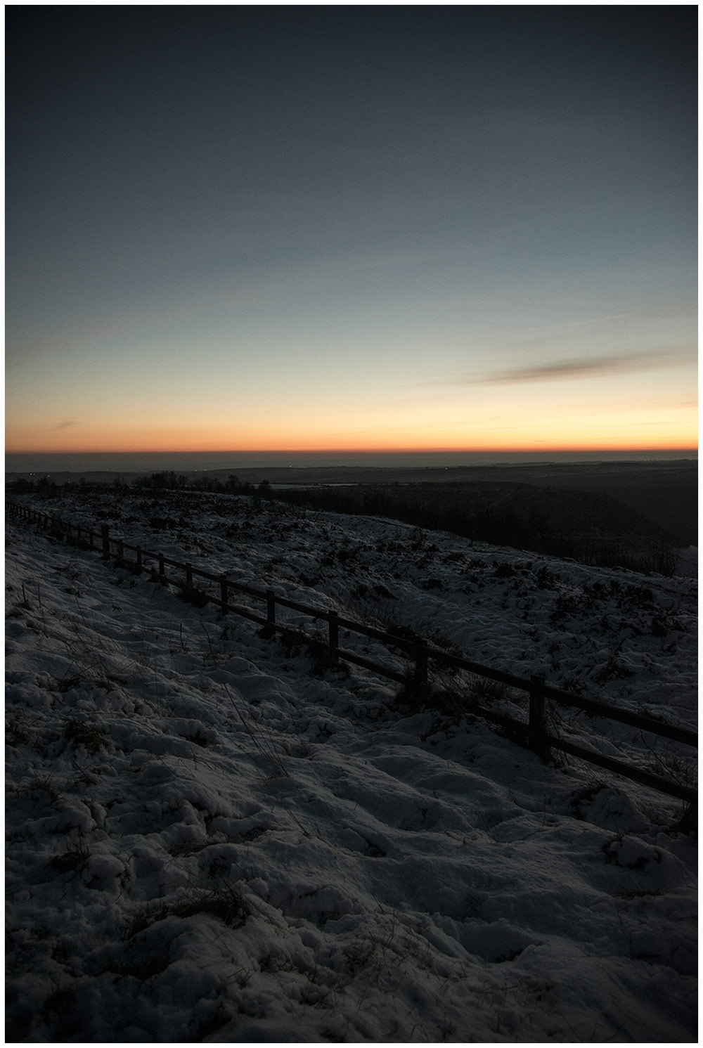 Sunset over the North Yorkshire Moors