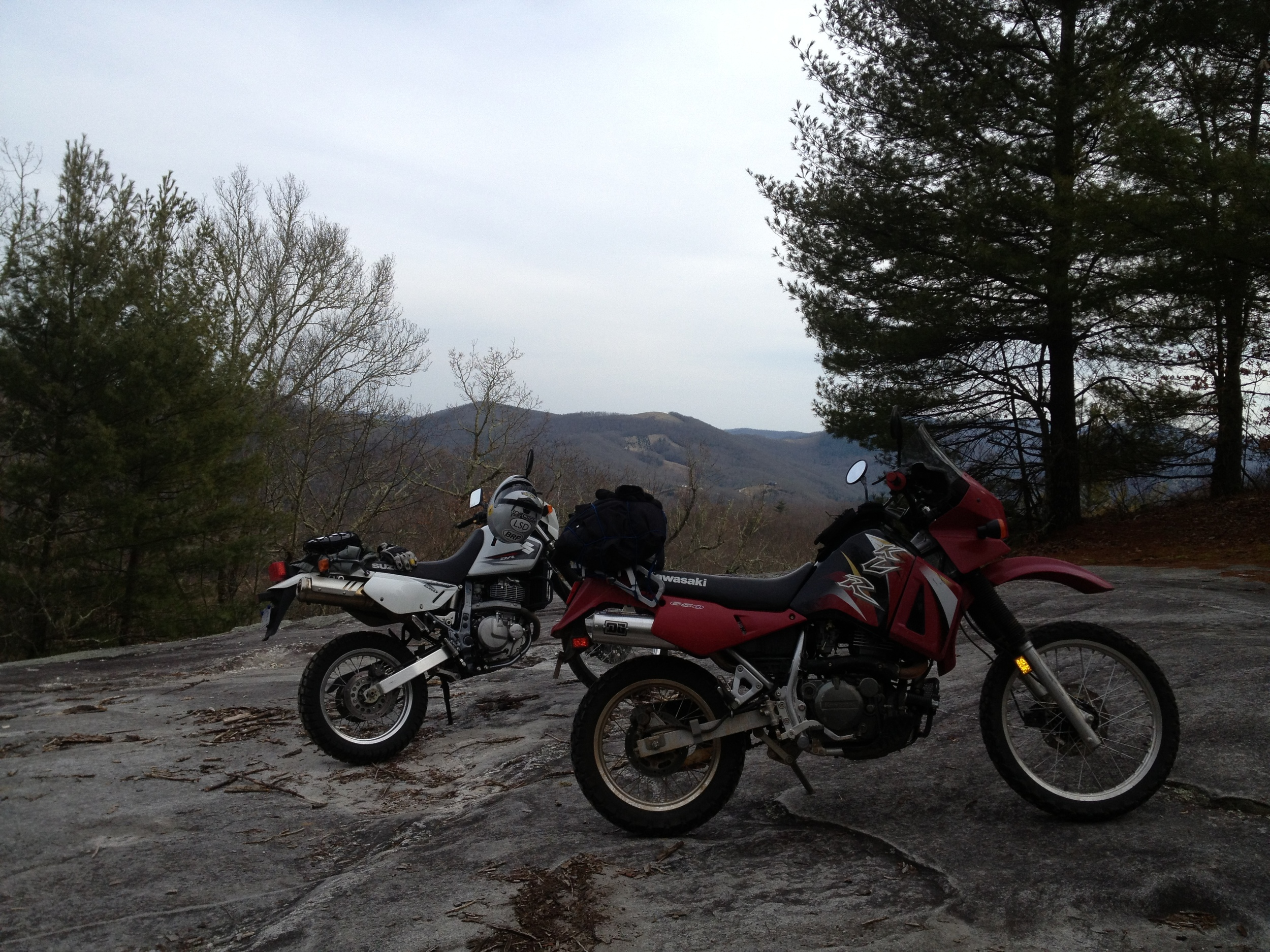 Bikes on the rock