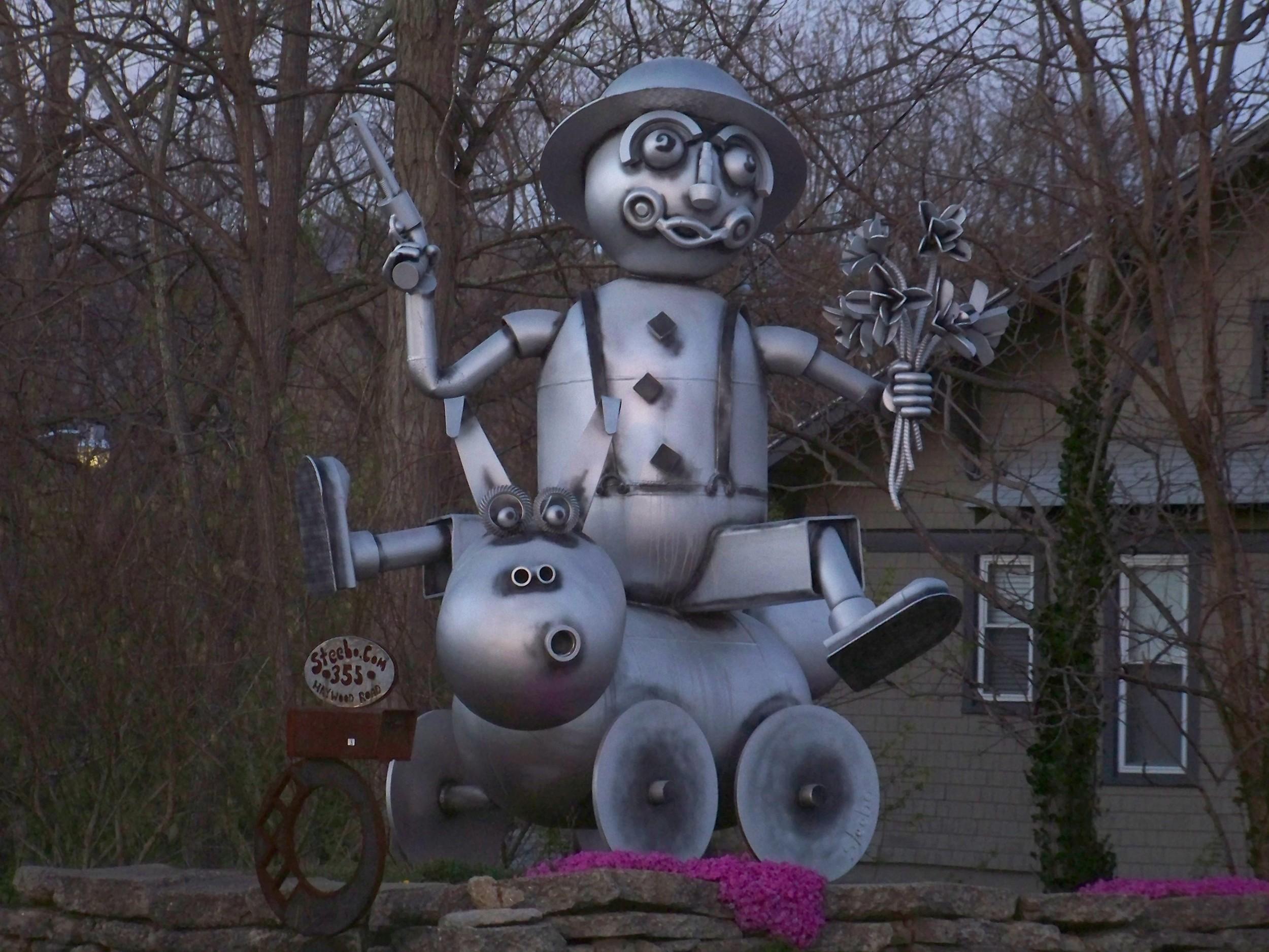 Sculpture in Asheville