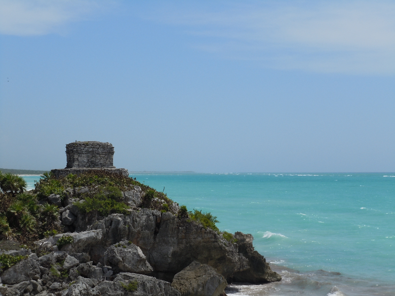 "The ""lighthouse"" at Tulum"