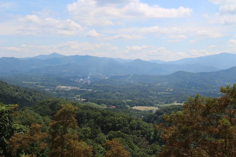 Overlooking Canton, NC