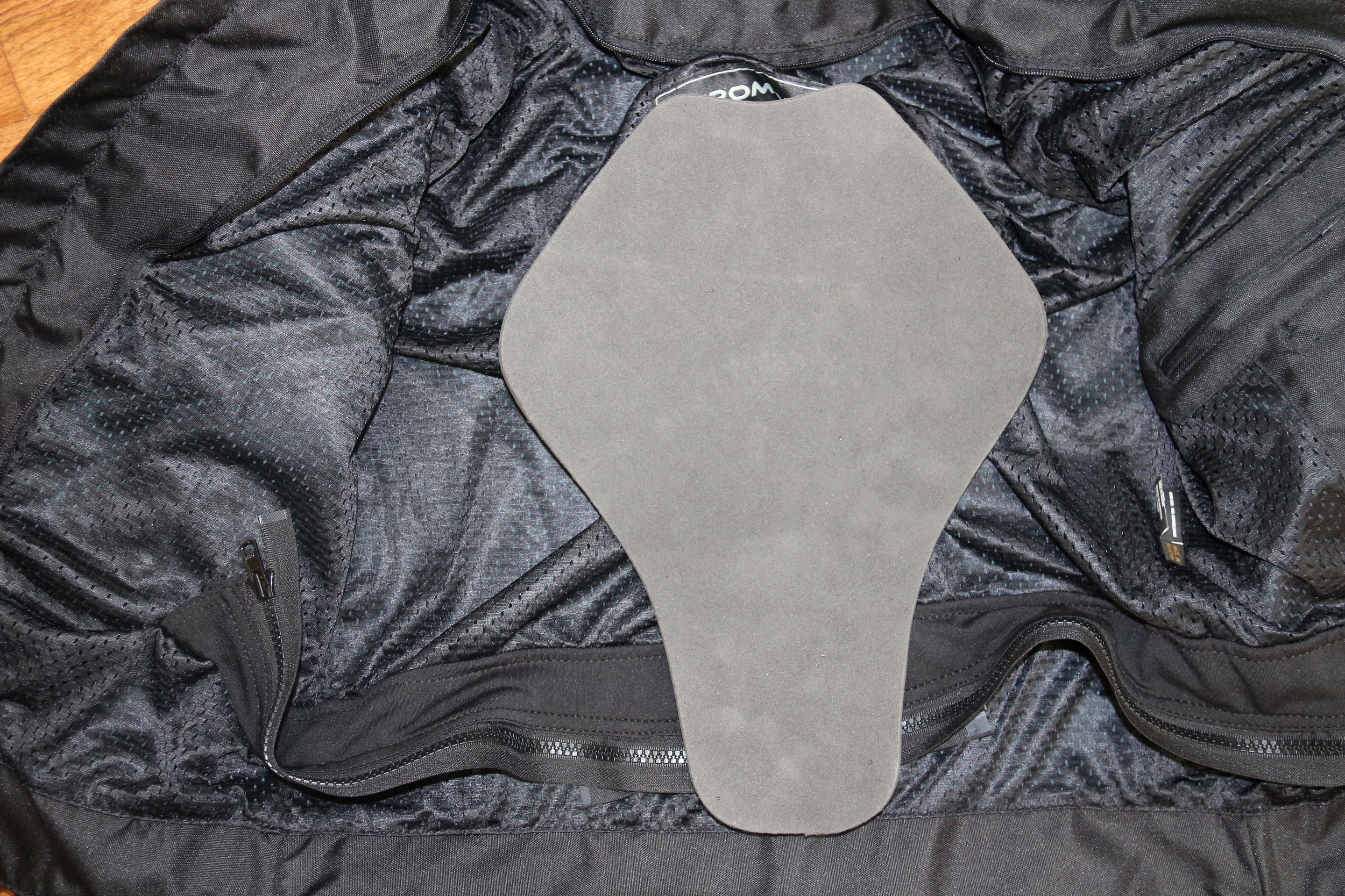 Removable Back Pad