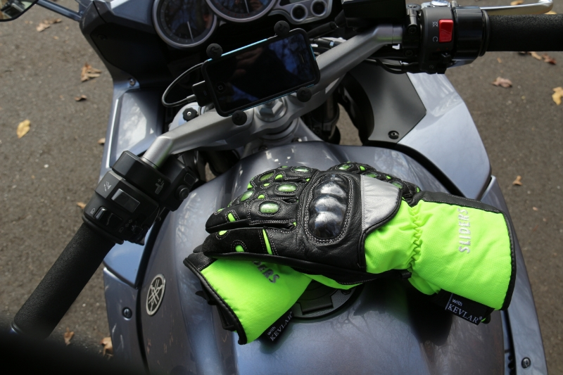 Sliders Cold Pro Waterproof Kevlar Gloves