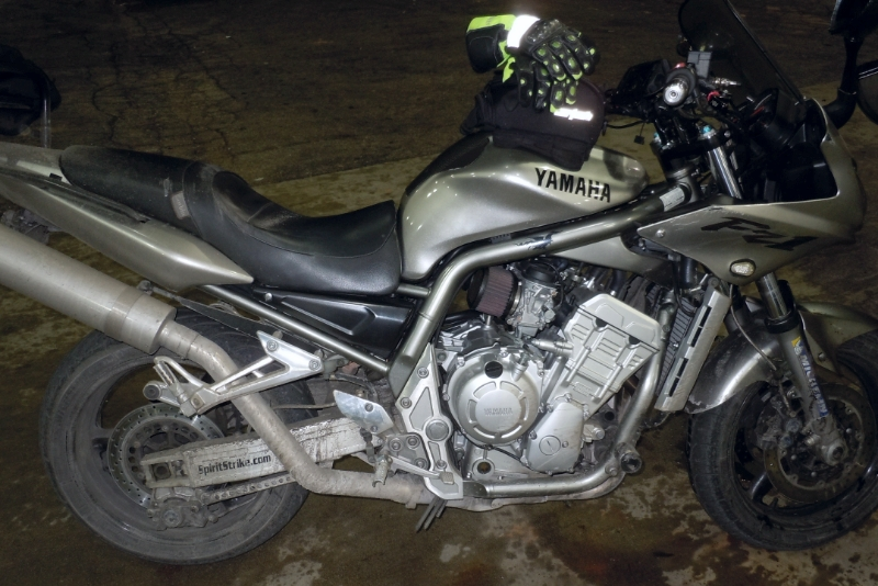 My FZ1 is a filthy mess!