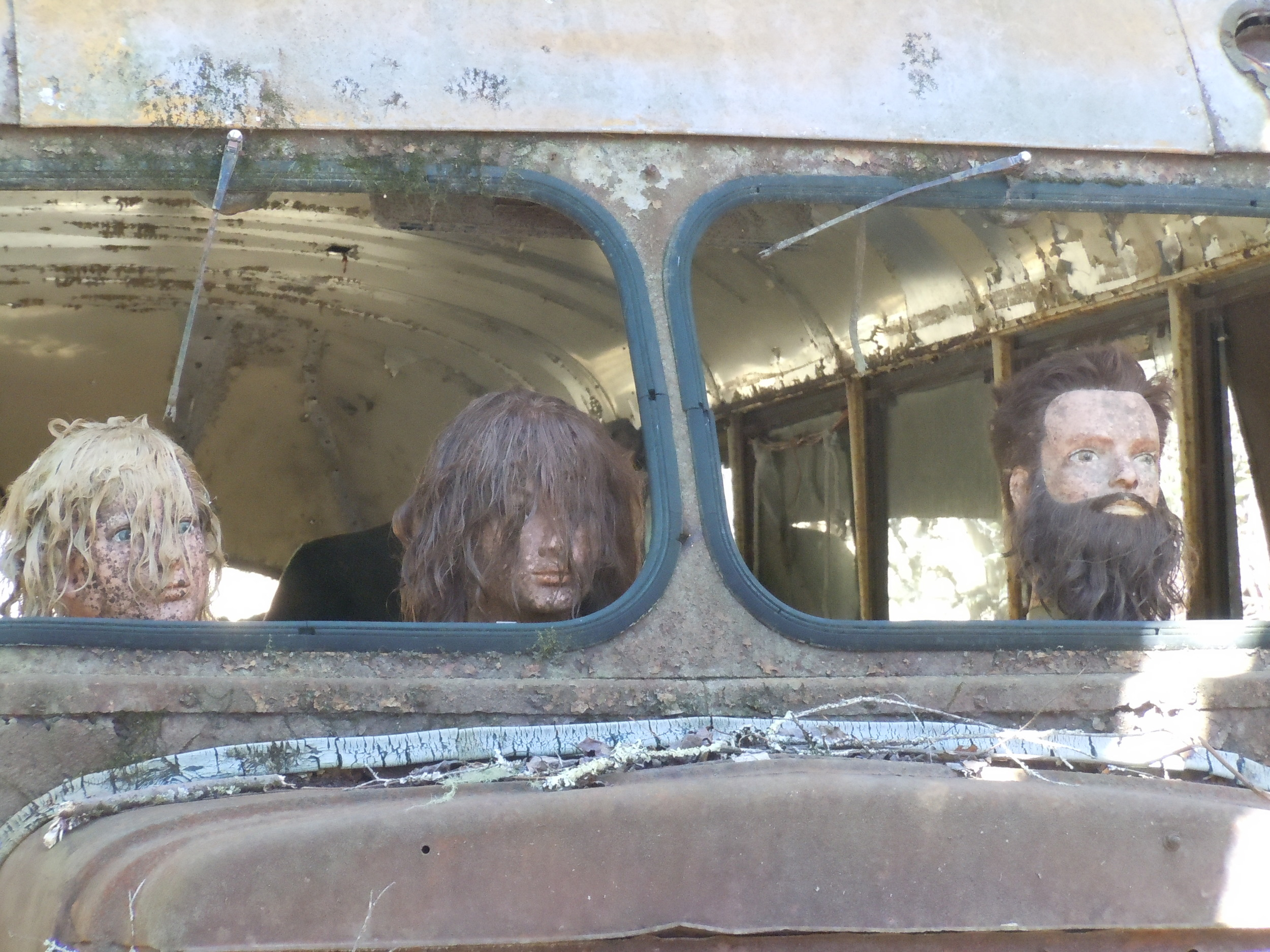 Creepy Bus Heads