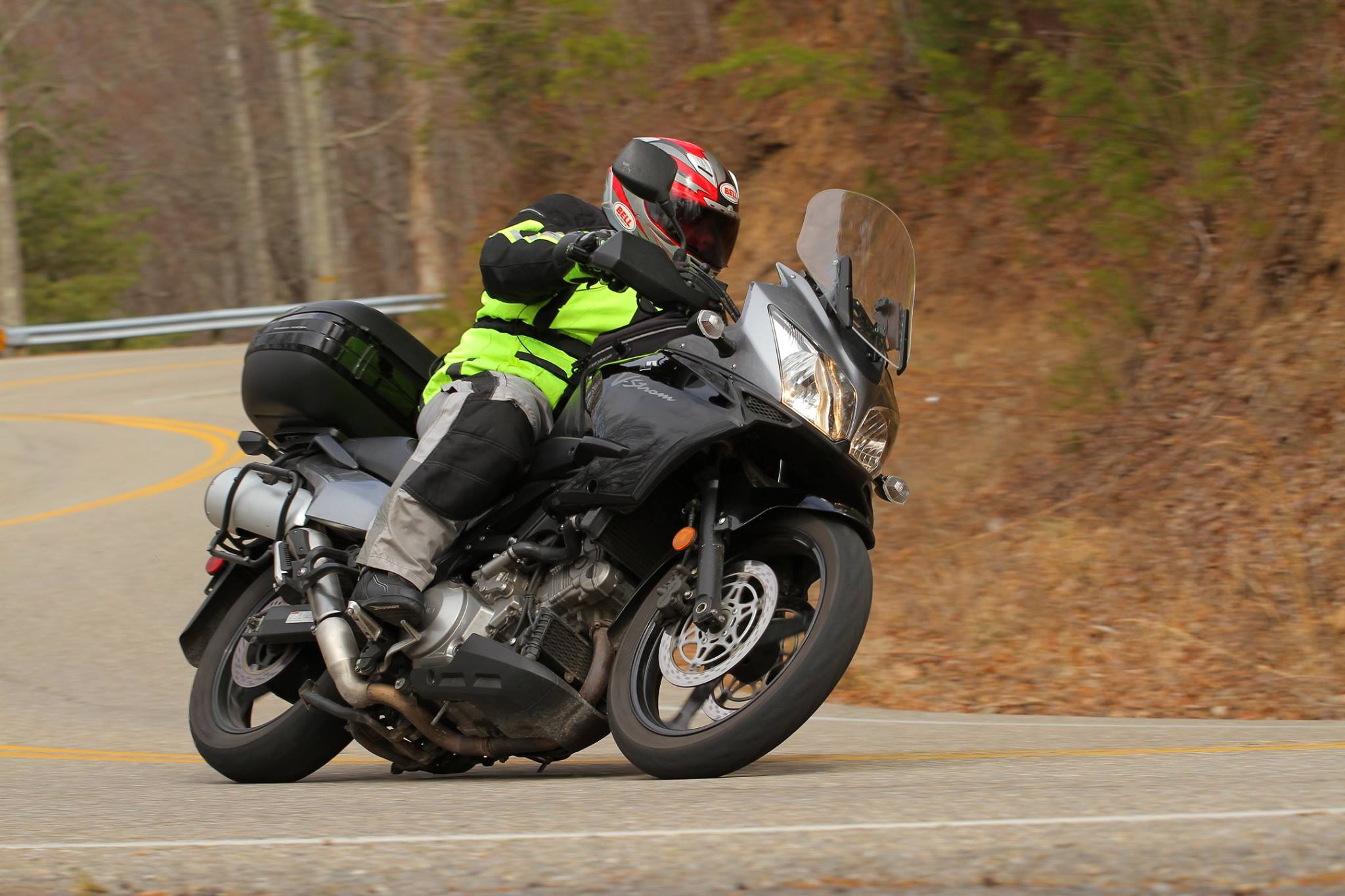 Lanny and his VStrom 1000