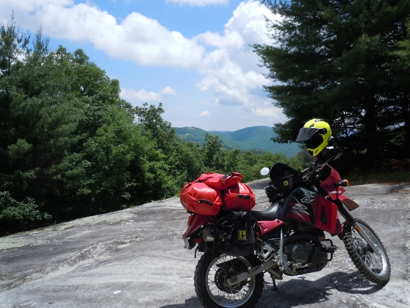 Wolf Mountain Rock Face