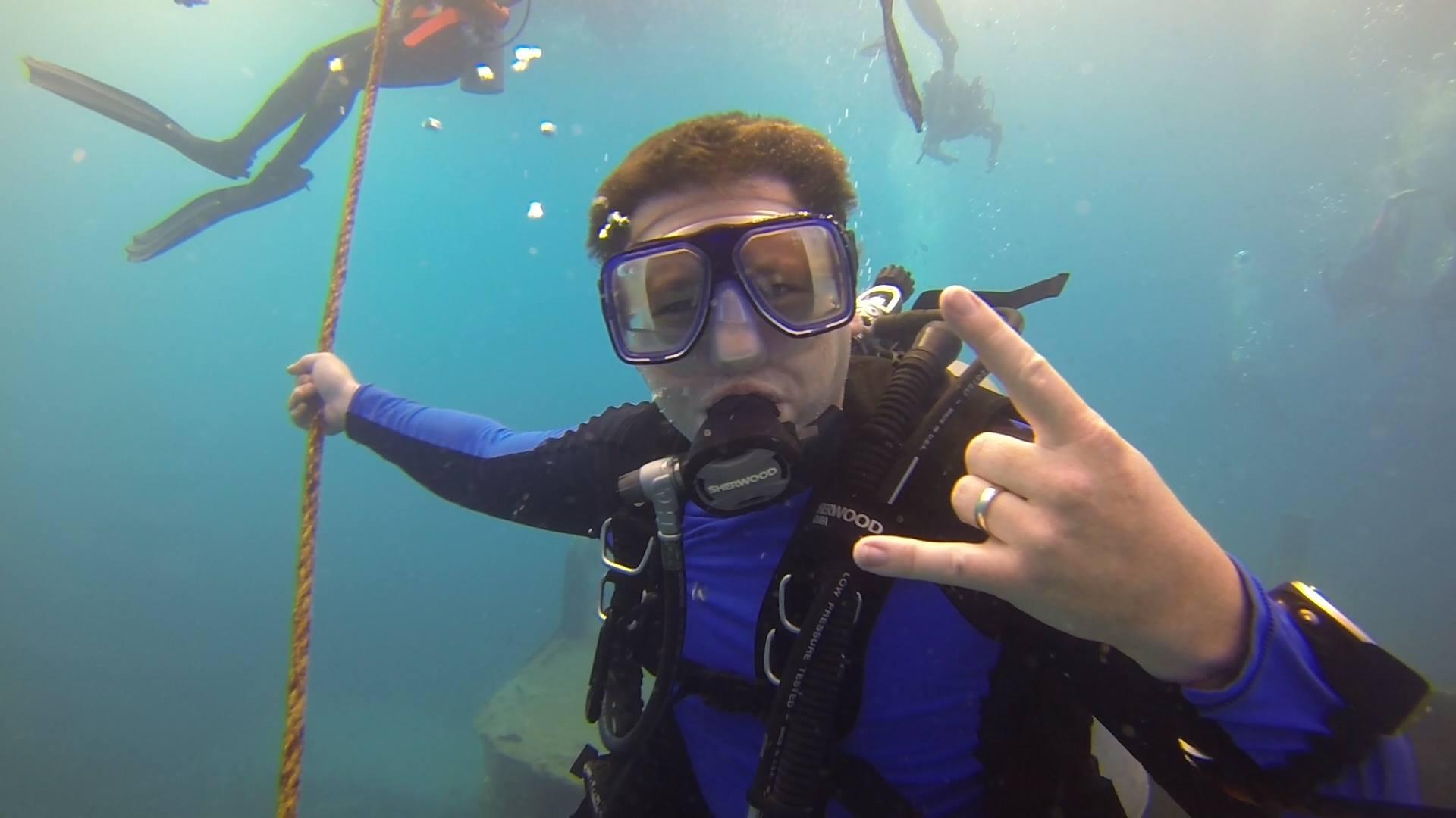 Scuba Diving Atlantic Princess Wreck