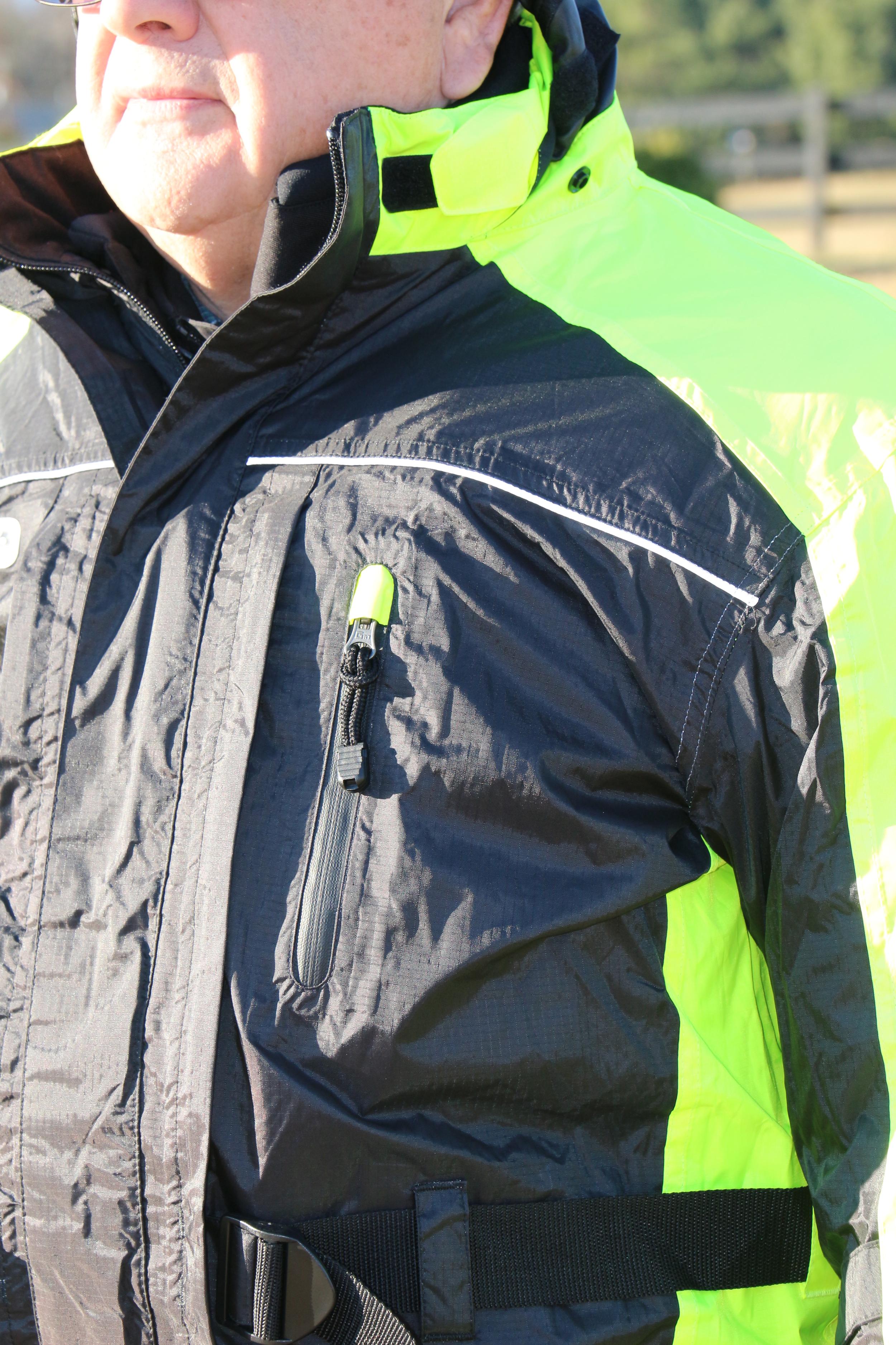 External Pocket on the Rain Liner