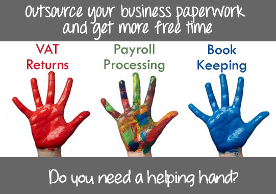 Outsourcing Book-keeping, Wages and VAT Returns