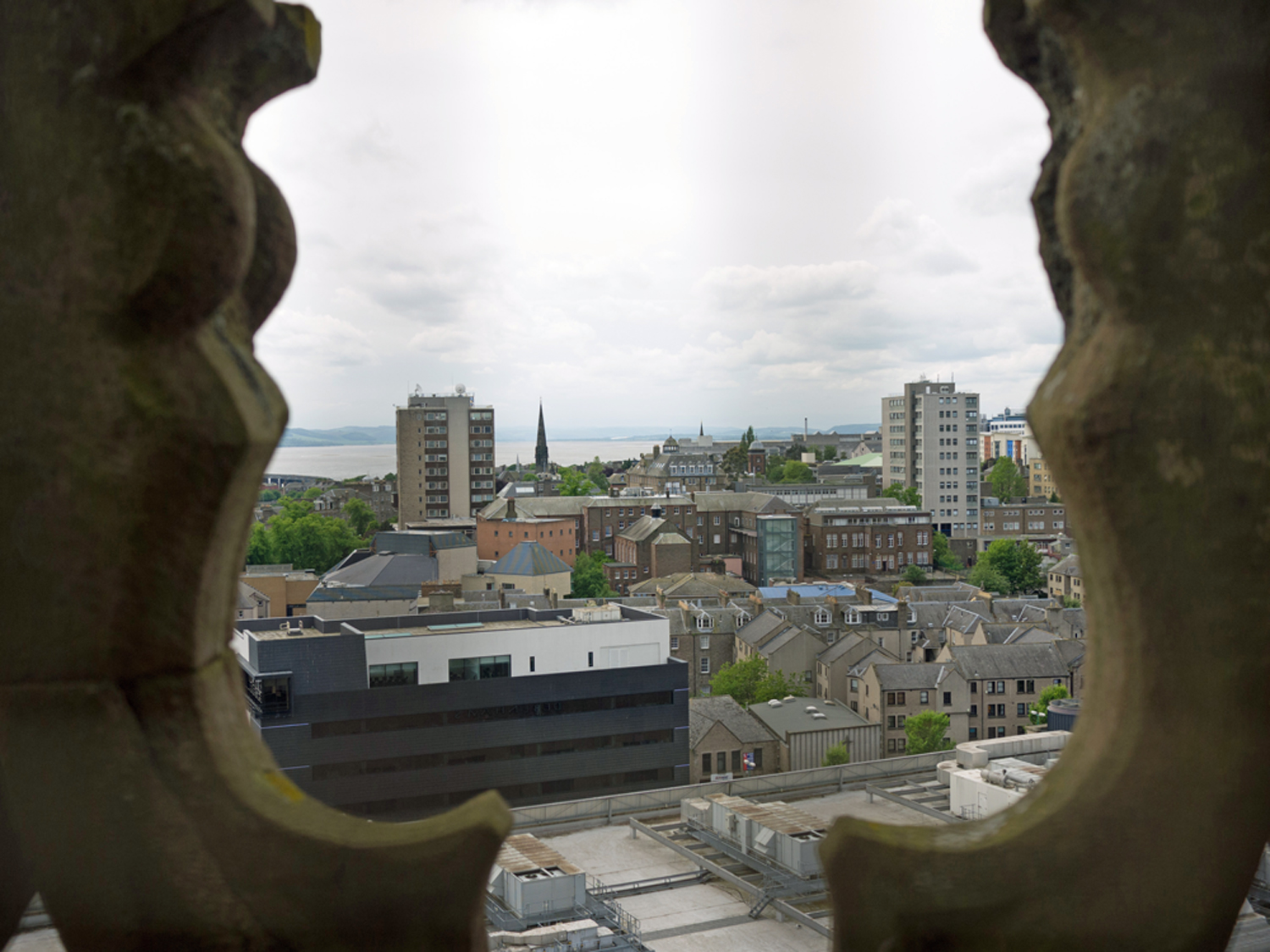 View from top of the tower