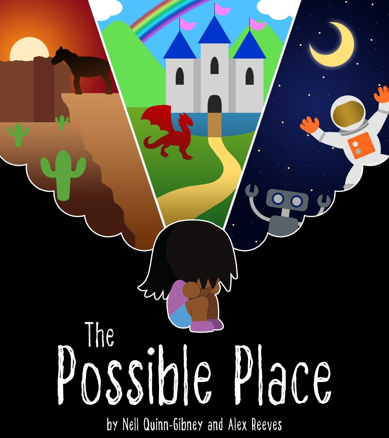 Out of Ink Productions -  The Possible Place   Anything is possible. Close your eyes. Don't open them.   When?   Saturday, 10/12 - 5:00 PM  Sunday, 10/13 - 7:00 PM  Friday, 10/18 - 10:30 PM  Saturday, 10/19 - 7:00 PM  Sunday, 10/20 - 1:30 PM    Where?  MAP Underground  218 W Saratoga St.