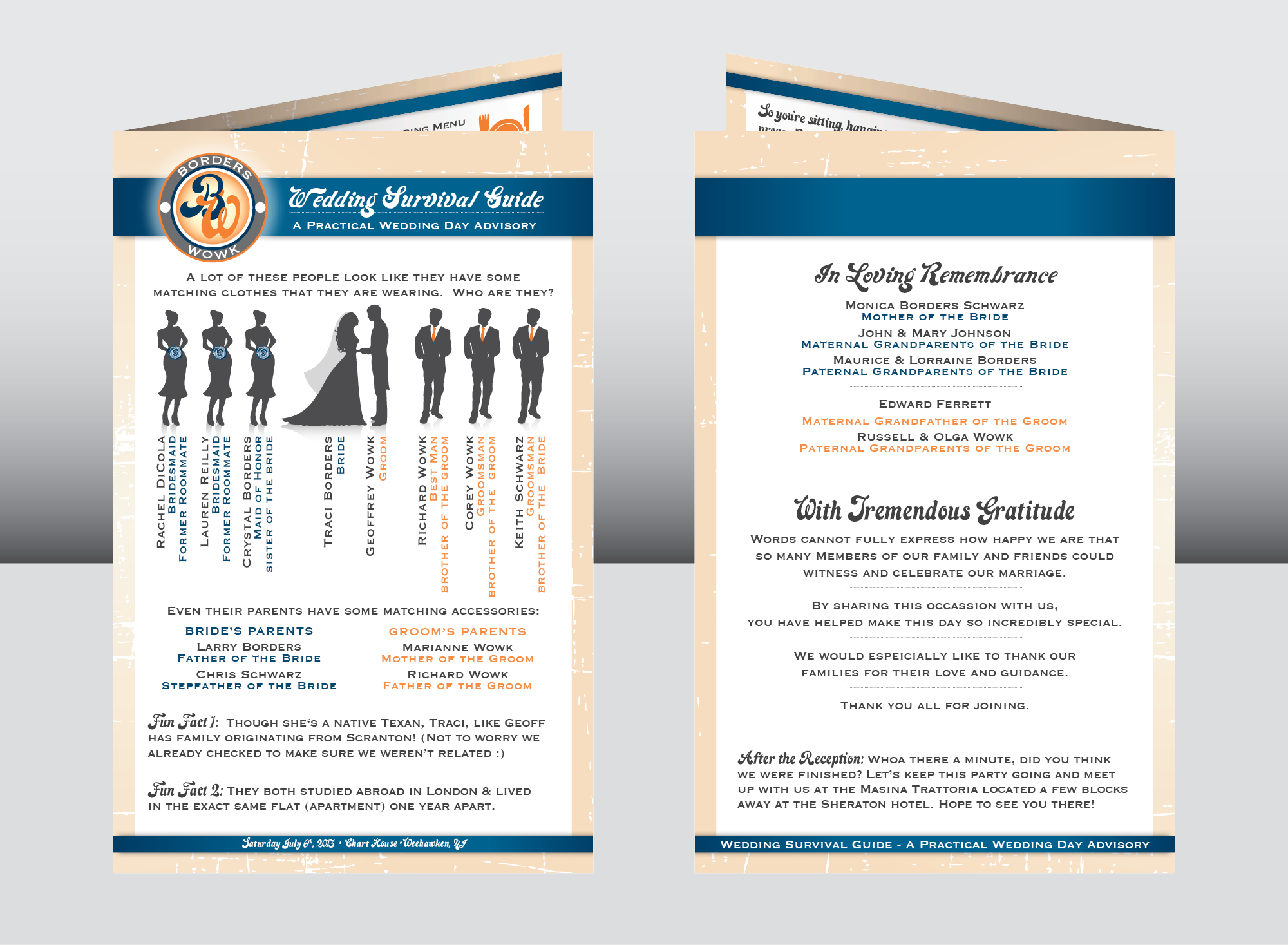 Program Front & Back Covers