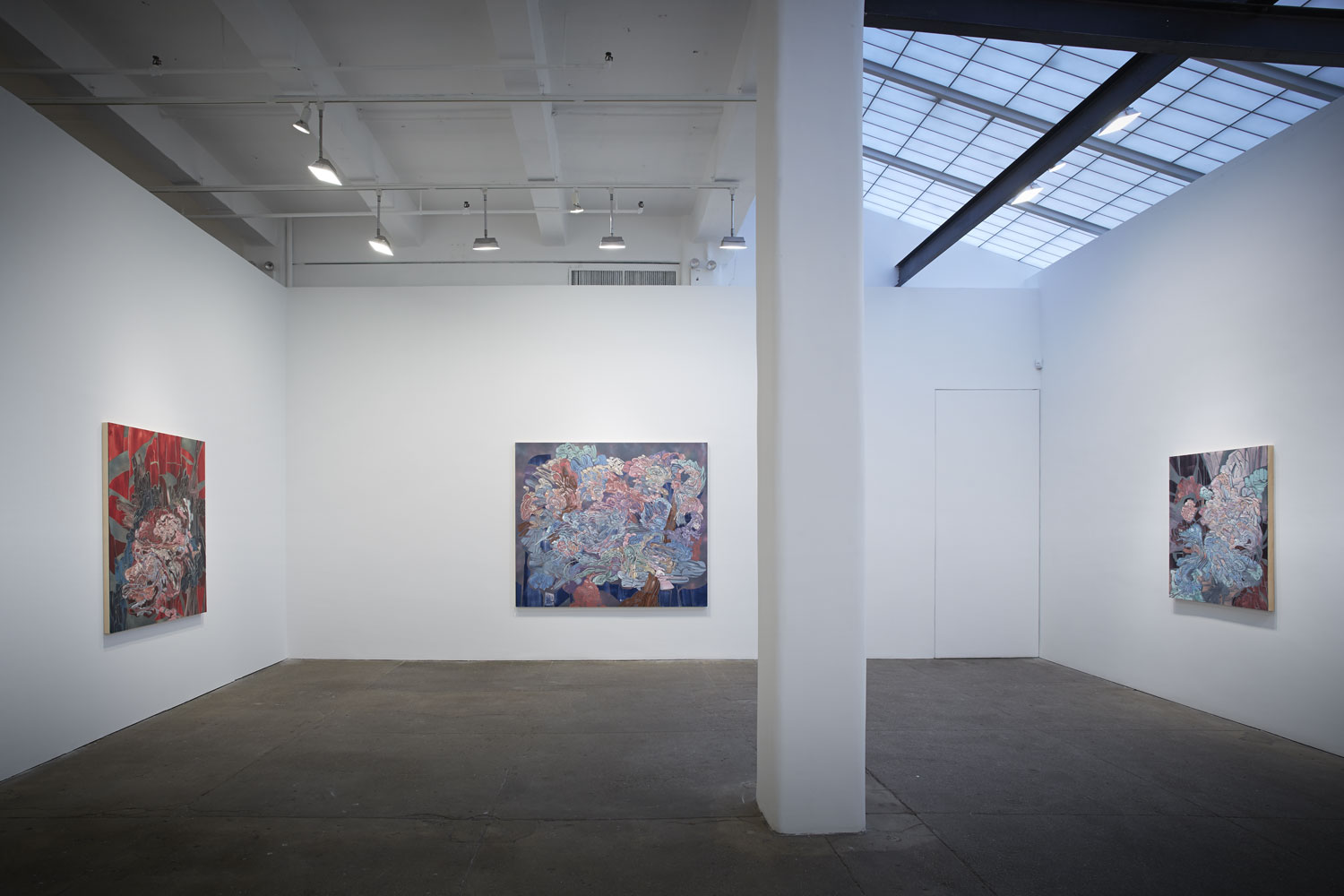Footprints On the Ceiling, 2014   Galerie Lelong, New York