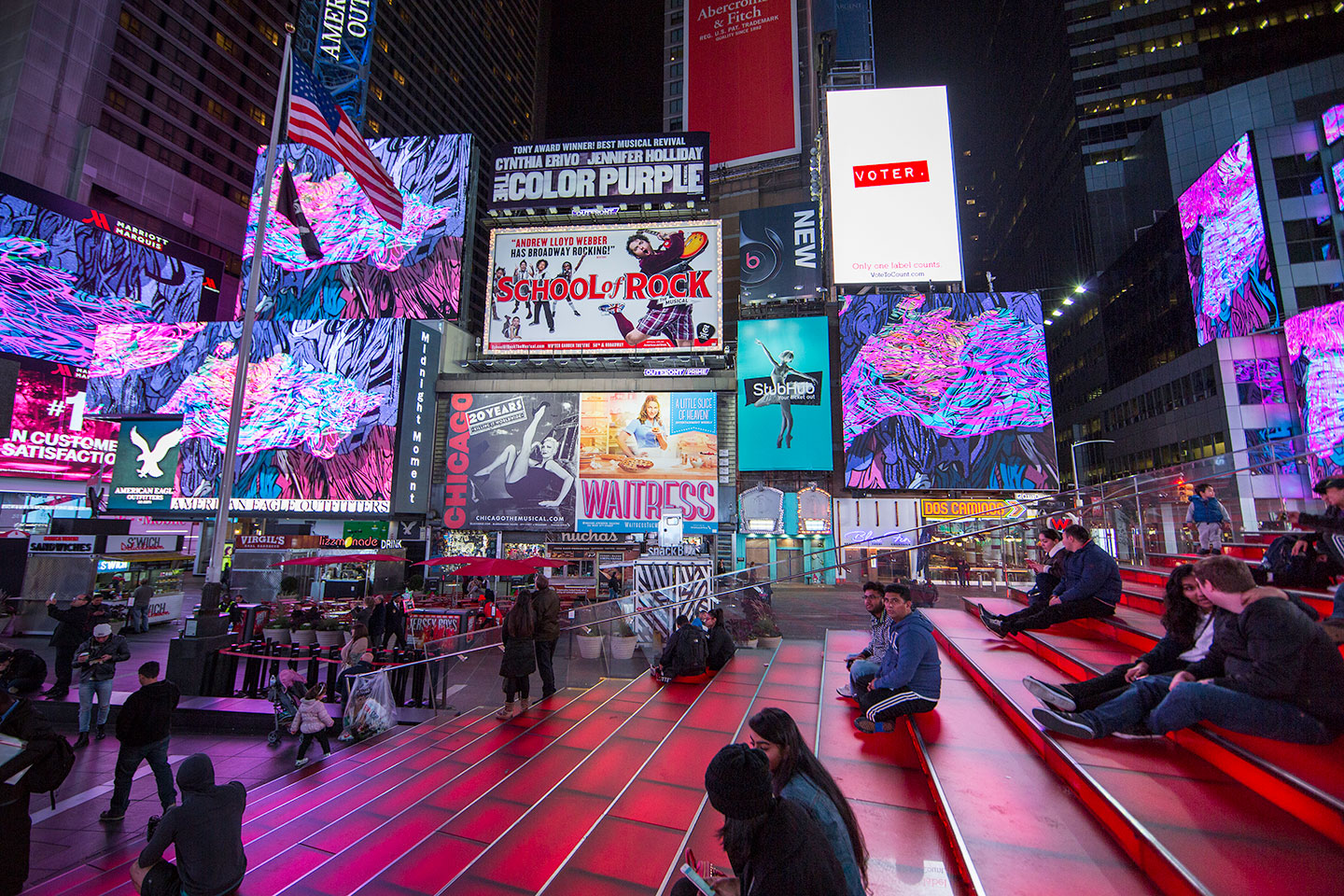 Dream Season, 2016   Times Square, NYC  Photo by Ka-man Tse