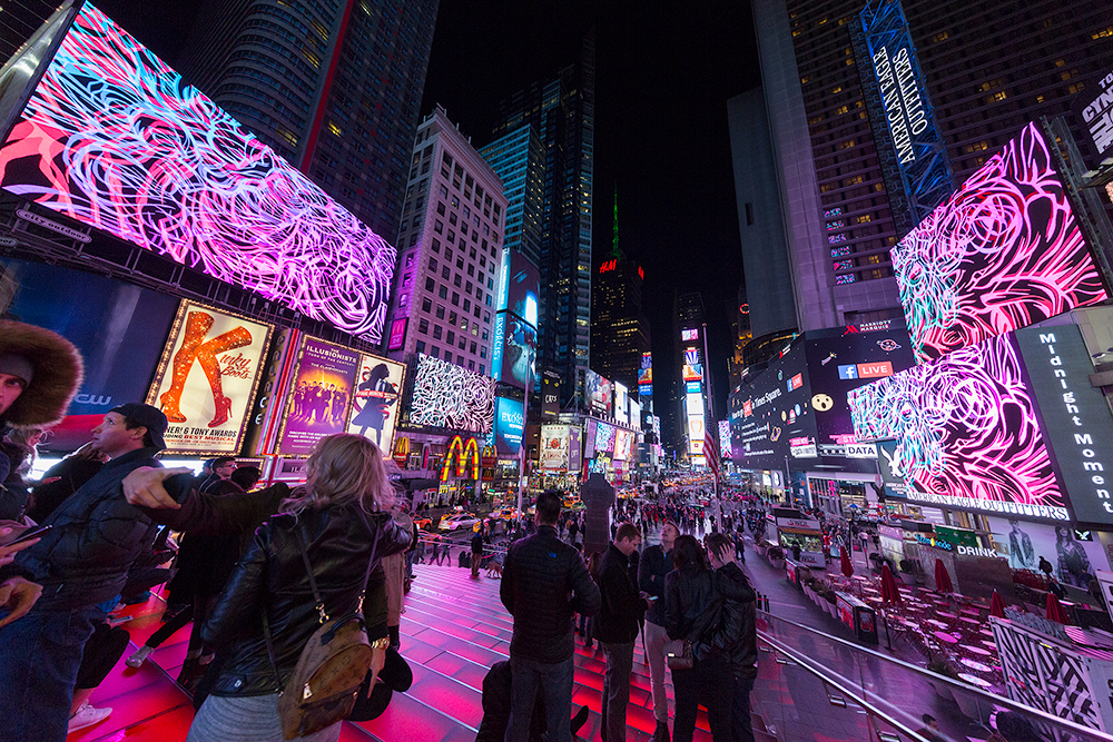 Dream Season, 2016   Times Square, NYC  Photo by Ka-man Tse