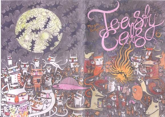 Toasty Cats #6 Cover by Magda Boreysza