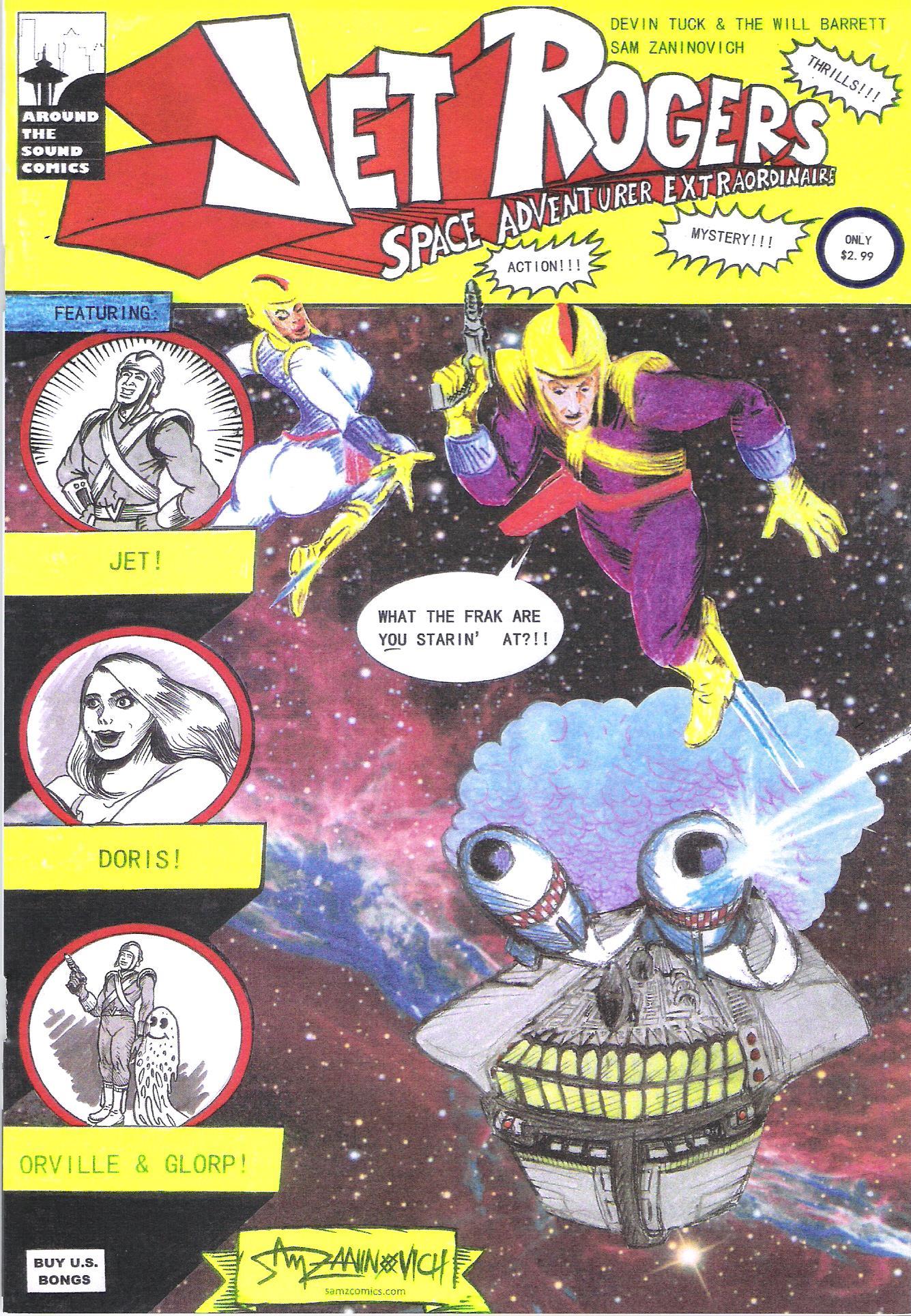 Jet Rogers #1 by Sam Zaninovich