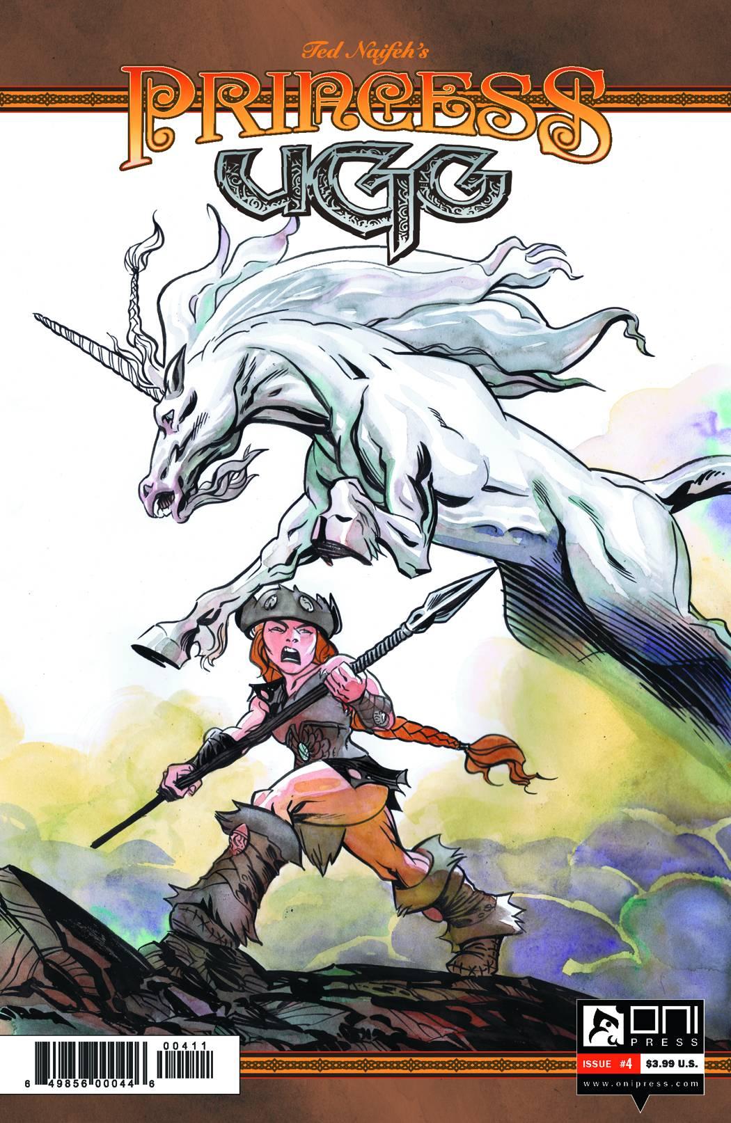 Princess Ugg #4 Cover Art by Ted Naifeh