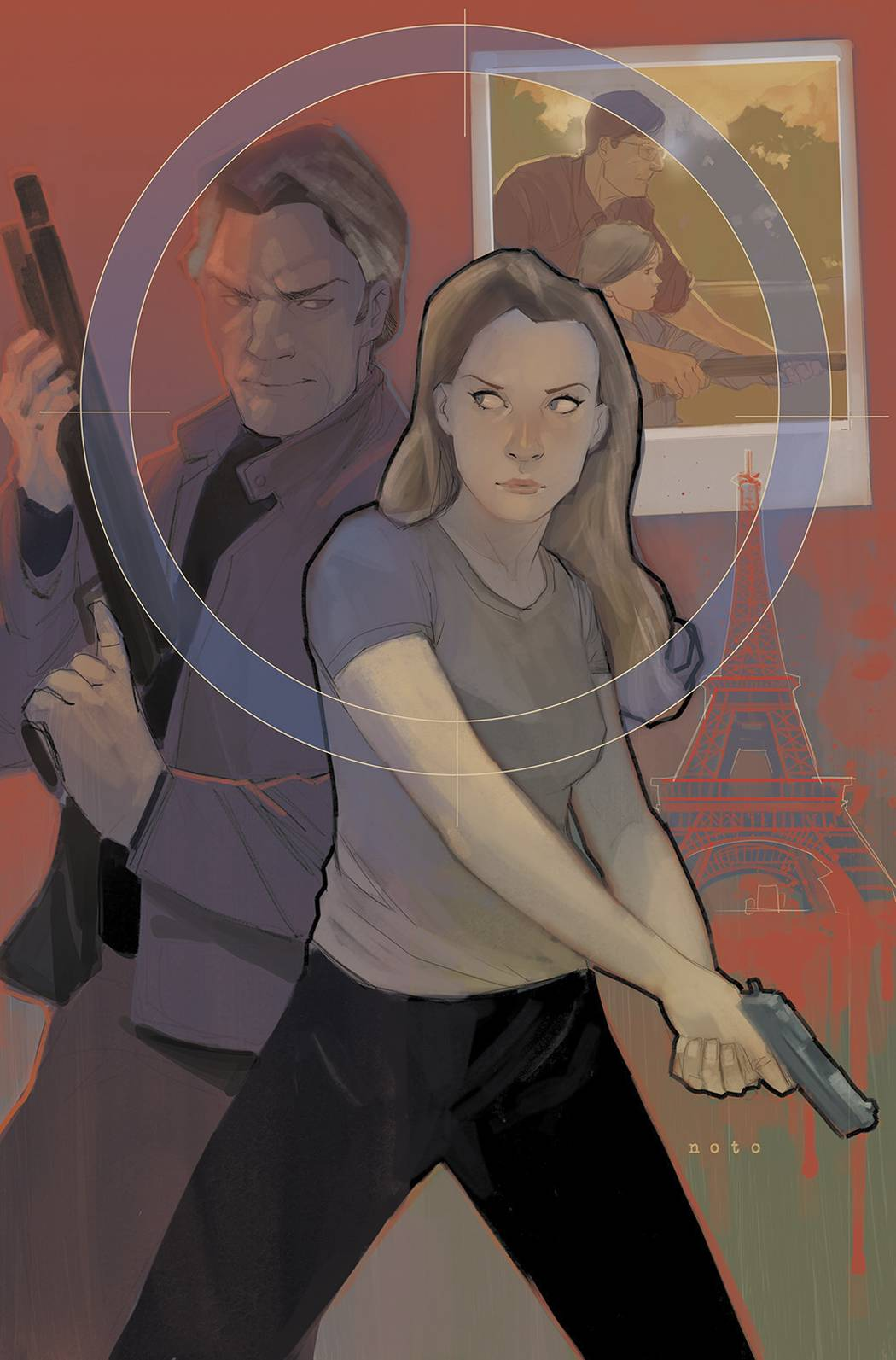 Butterfly #1 Cover Art by Phil Noto