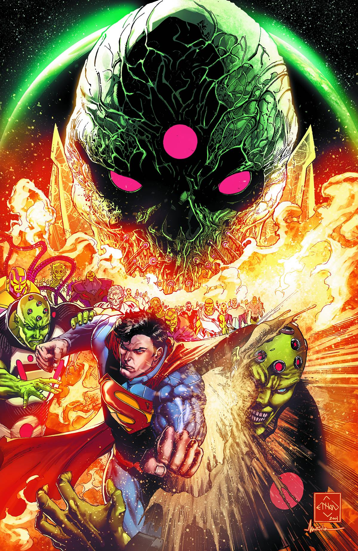 Cover art by Ethan VanSciver