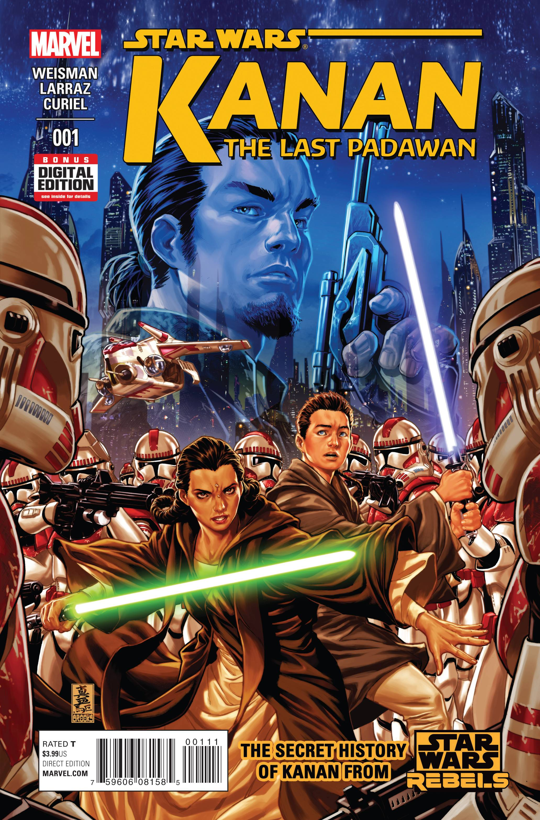 Cover art by Mark Brooks