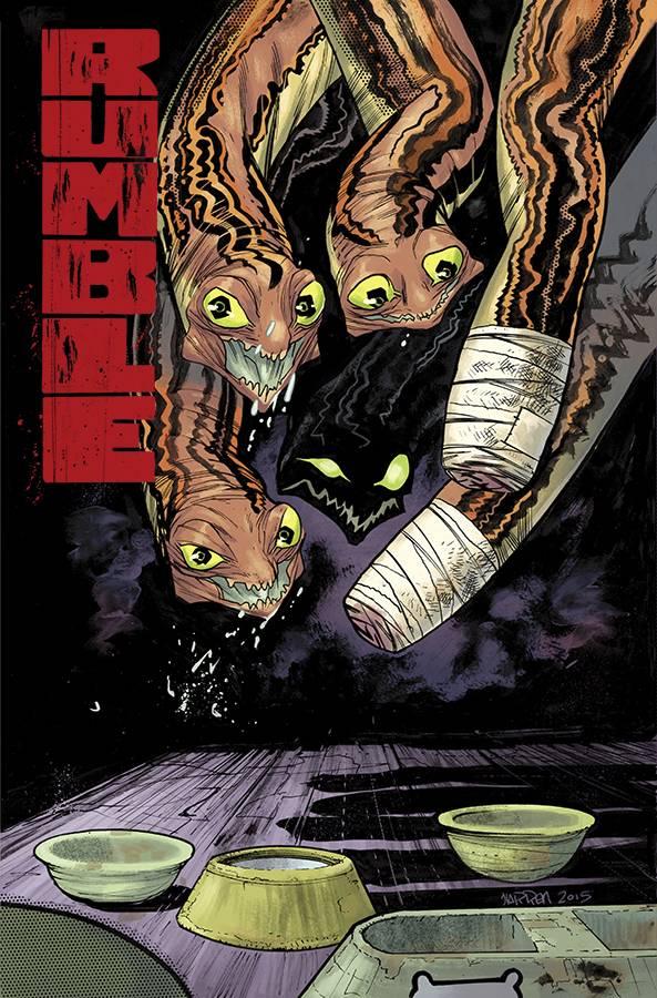 Cover Art by James Harren