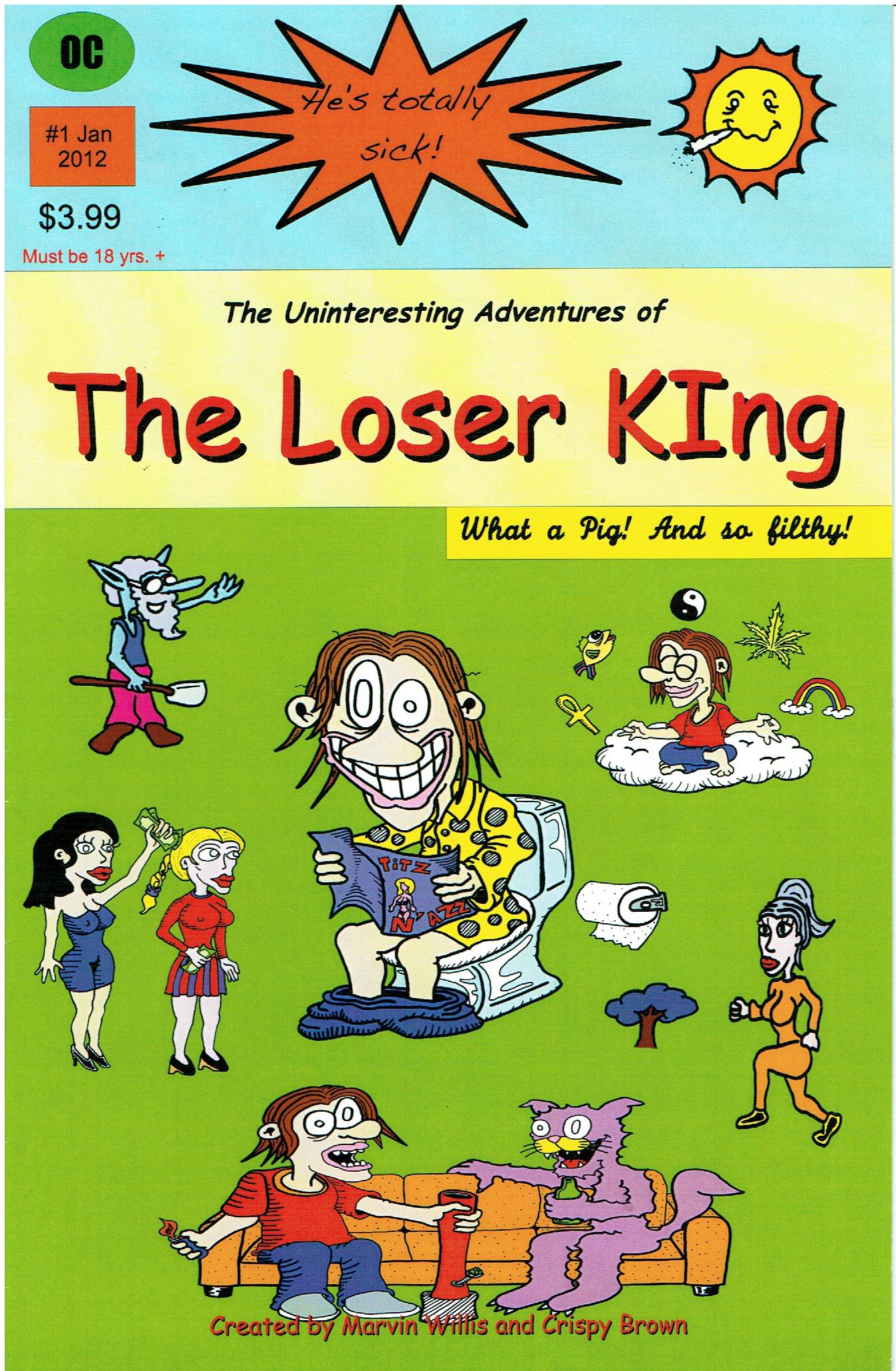 Loser King #1 cover