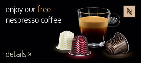 Enjoy your favourite coffee taste in our apartments as well and feel yourself like at home.