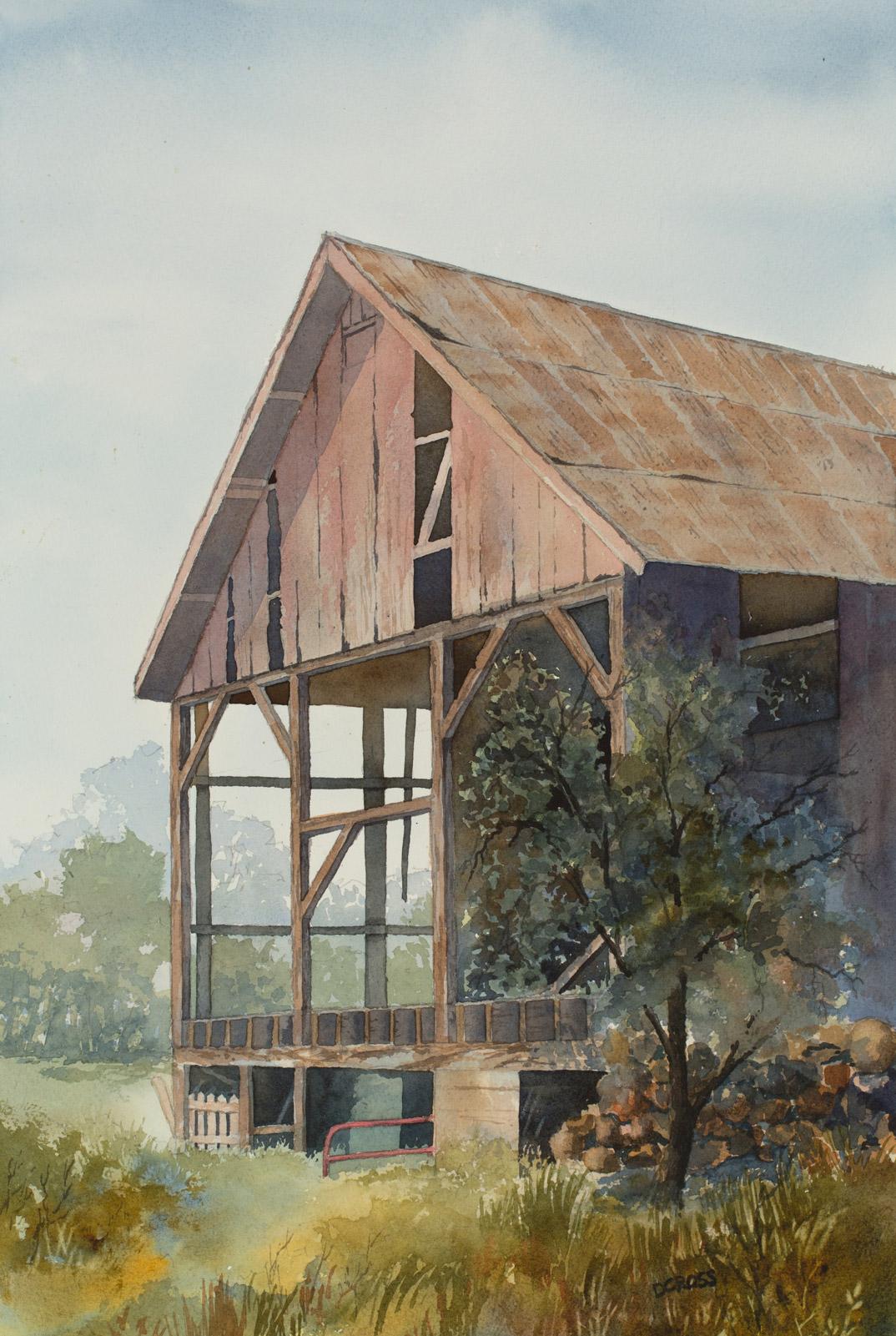 """Open Air"" - Transparent Watercolor"